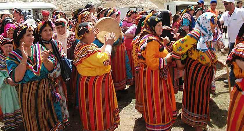 Djedjiga Bouraï gardienne du chant traditionnel
