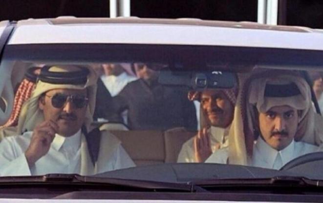 Un désastre aux portes de Paris qatar-emir