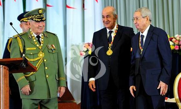 Algérie: la mort du général Gaïd Salah fragilise le nouveau président