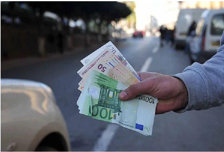 marché noir devise dinar euro