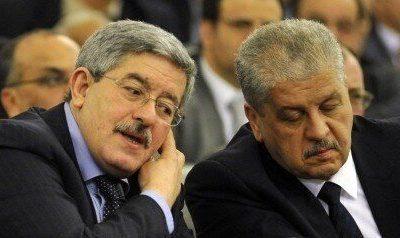Ahmed Ouyahia et Abdelmalek Sellal
