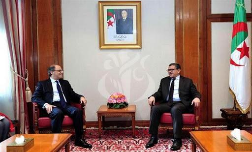 Jafar Modjared (FMI) et Abdelaziz Djerad