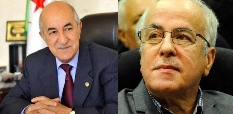 Abdelmadjid Tebboune et Karim Younes