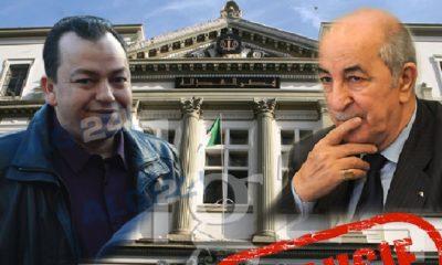 Kamel Chikhi a innocenté le fils de Abdelmadjid Tebboune