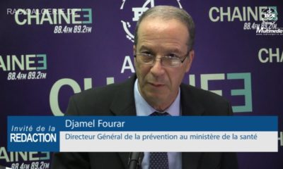 Djamel Fourar, ministère de la Santé