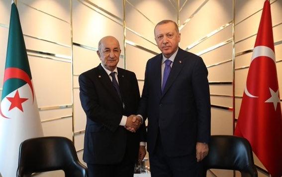 Abdelmadjid Tebboune et Recep Tayyip Erdoğan