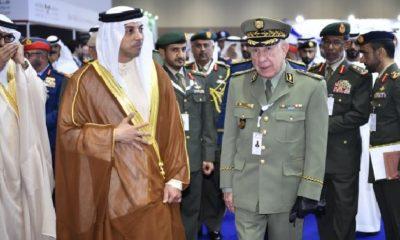 Le général-major Saïd Chengriha aux Emirats