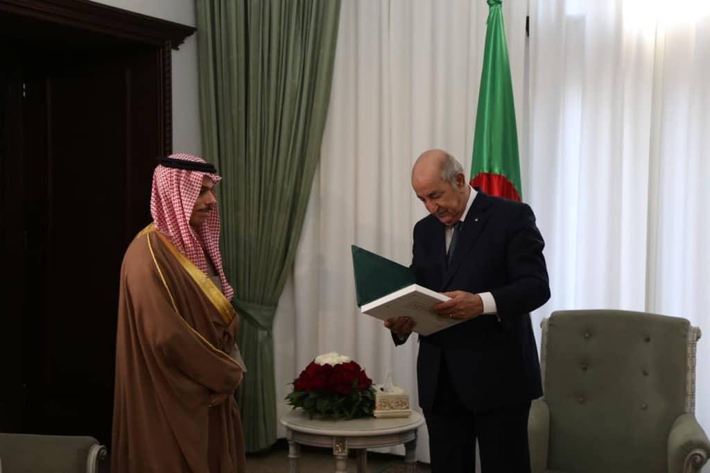 Tebboune invité en Arabie saoudite