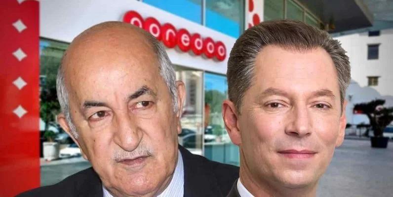 Abdelmadjid Tebboune Ooredoo Nickolai Beckers