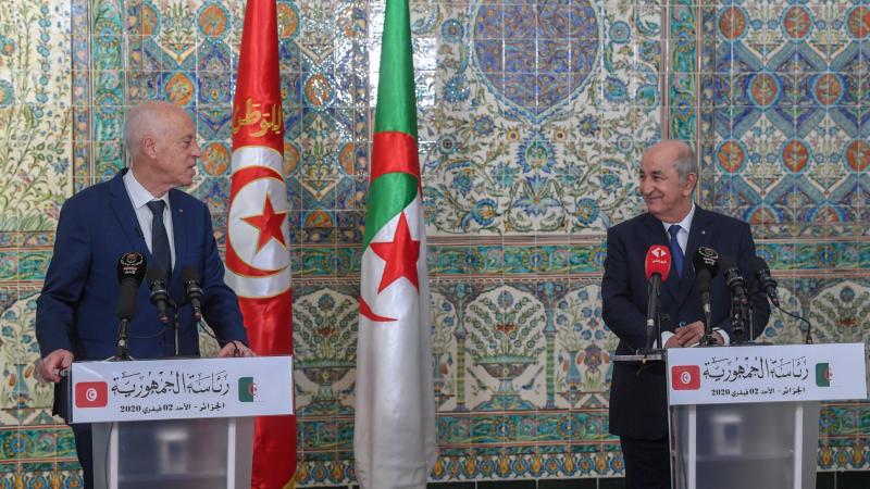 Kais Saied et Abdelmadjid Tebboune