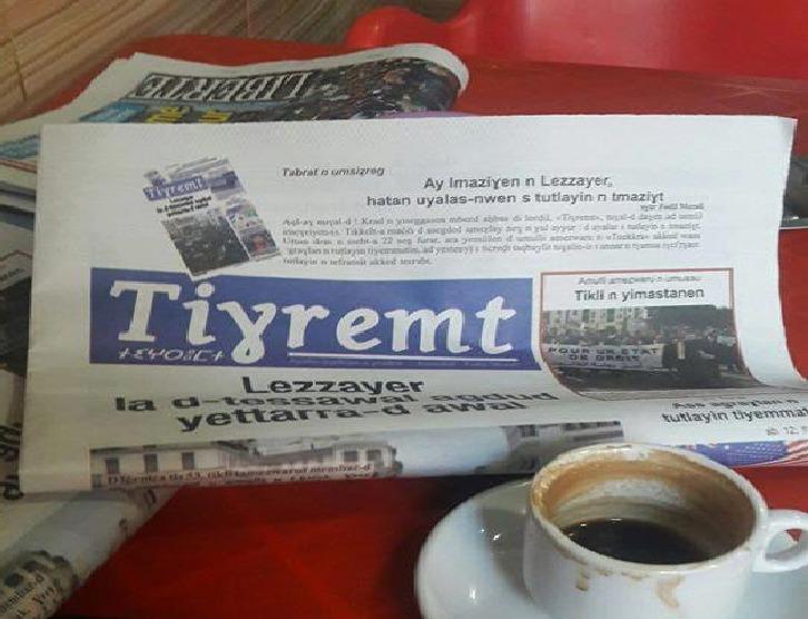 journal Tiɣremt Tighremt interdit