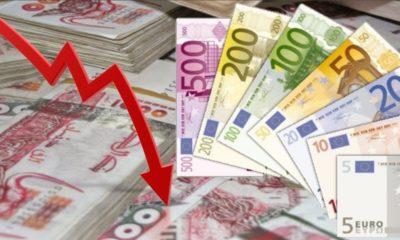 Le dinar a baissé cette semaine par rapport à l'euro