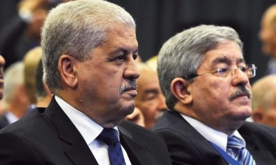 Abdelmalek Sellal et Ahmed Ouyahia