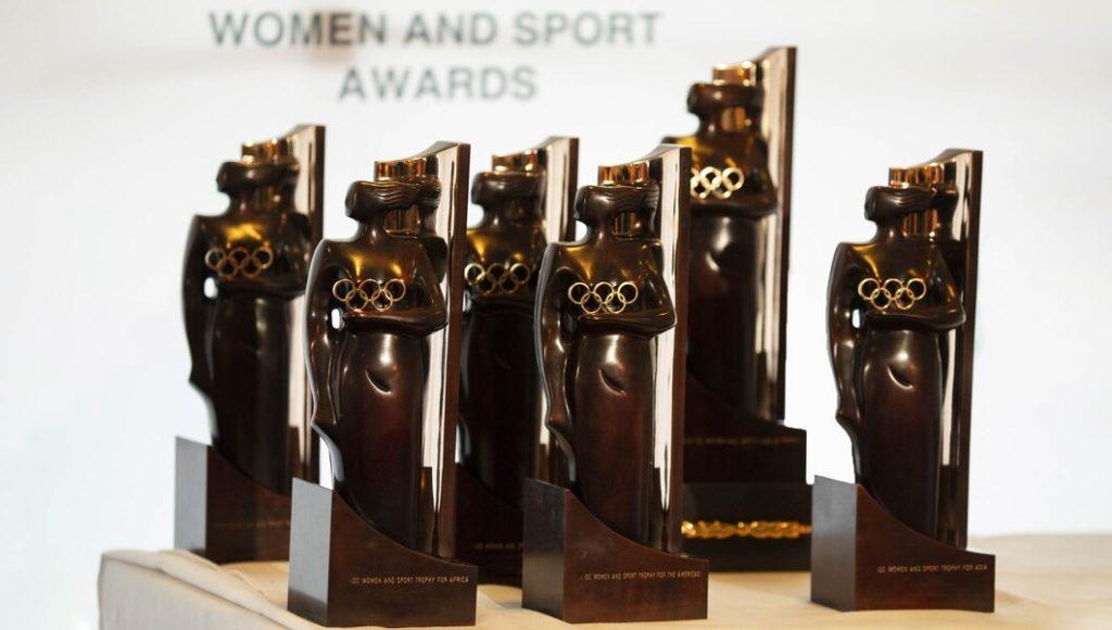 CIO trophée Femme africaine de l'année salima souakri