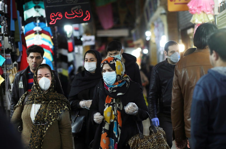 Coronavirus en Iran : 2 640 morts !