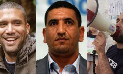 Khaled Drareni Karim Tabbou Yanis Adjlia