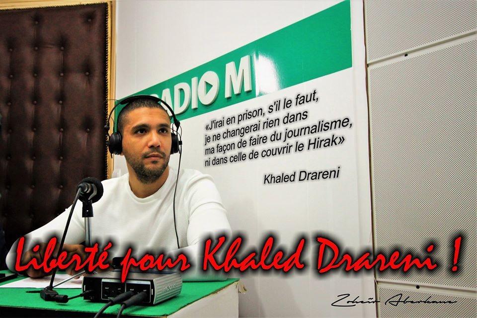 Le procureur requiert 4 années de prison contre le journaliste Khaled Drareni
