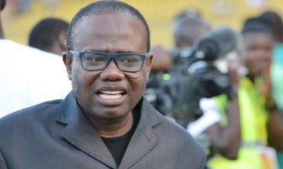 L'ex-président de la fédération de football du Ghana, Kwesi Nyantakyi