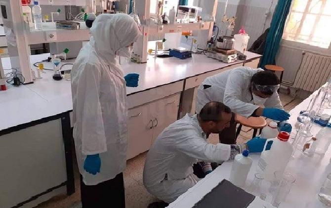 Laboratoire dépistage du coronavirus Tizi ouzou