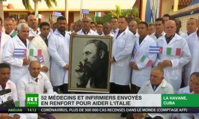 Médecins cubains en Italie