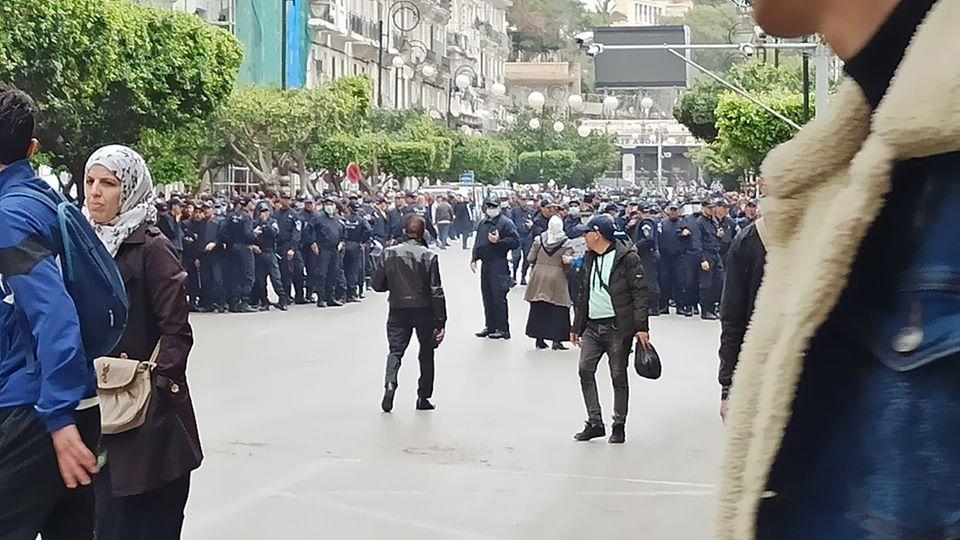 Manifestations samedi Alger