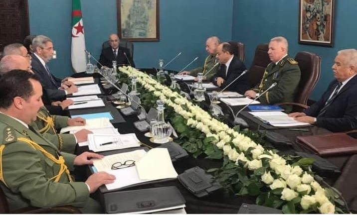 Abdelmadjid Tebboune conseil de sécurité