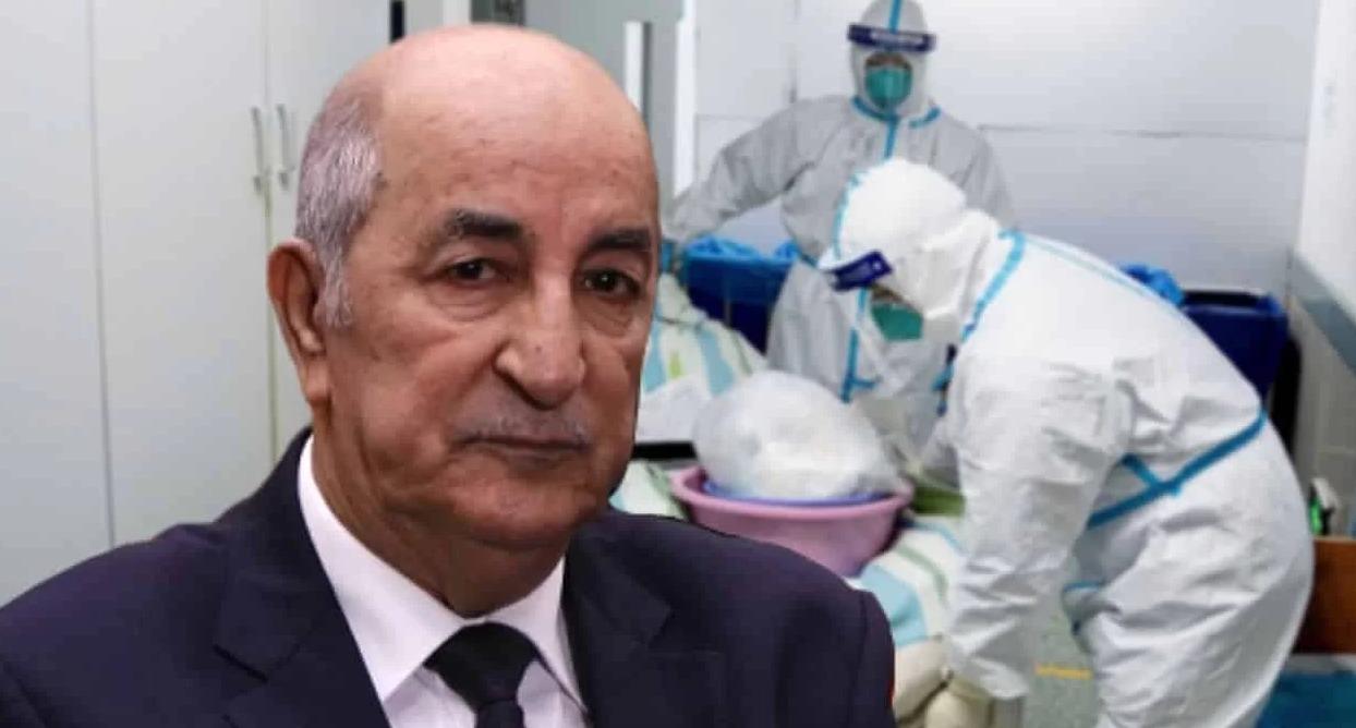Tebboune coronavirus Algérie