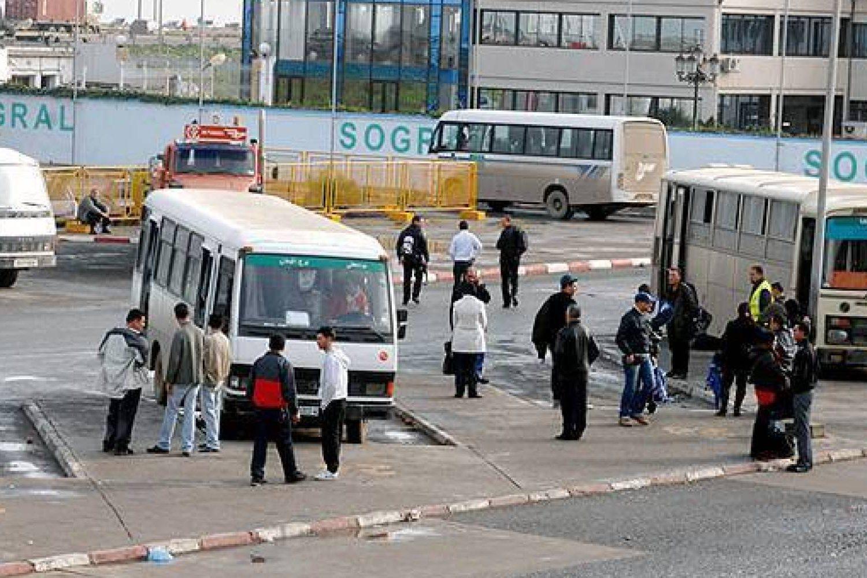 Transport Blida coronavirus