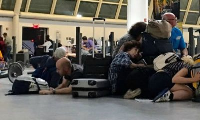 Algeriens bloqués aéroport d'Istanbul