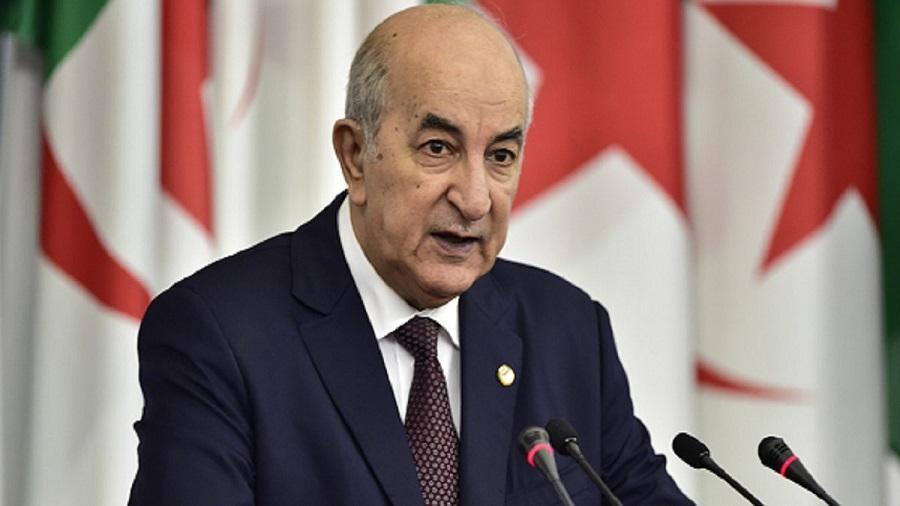 Abdelmadjid Tebboune Algérie.
