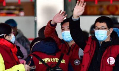 Equipe de virologues chinois