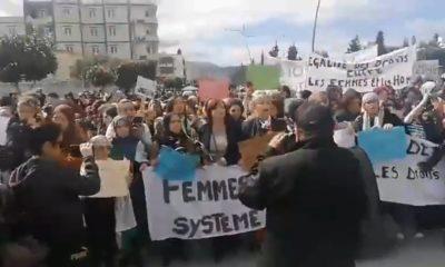 marche femmes béjaïa 8 mars