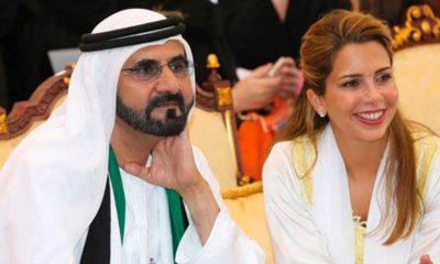 Haya de Jordanie et l'émir de Dubaï