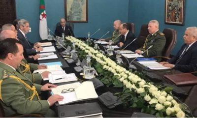 réunion du Haut conseil de sécurité sur le Coronavirus