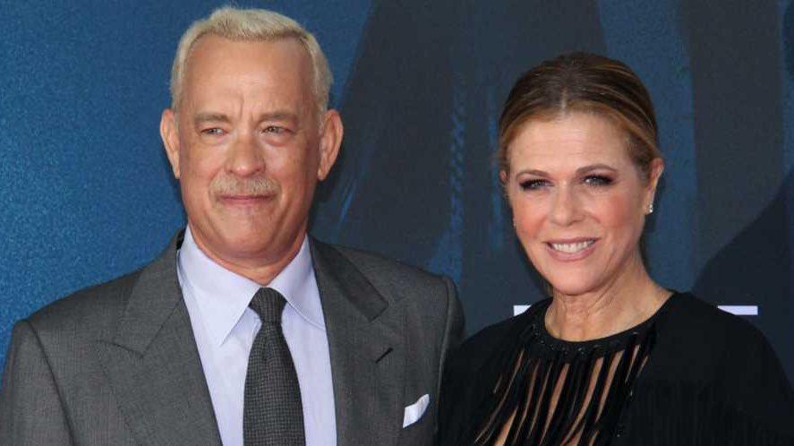 Tom Hanks et son épouse Rita Wilson