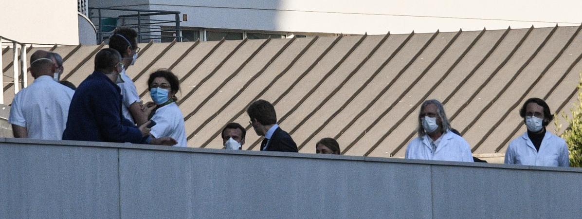 Macron et Raoult