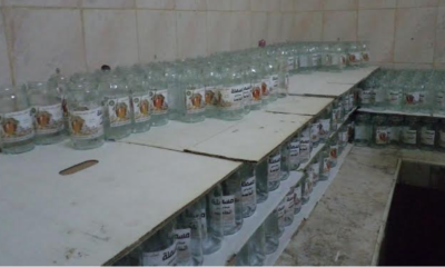 Atelier clandestin de médicaments