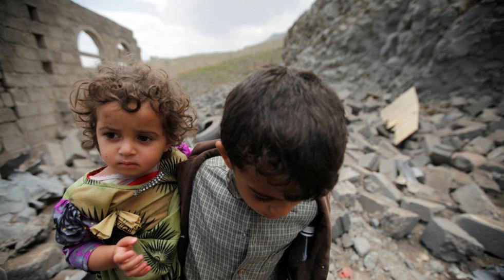 Enfants guerre yémen