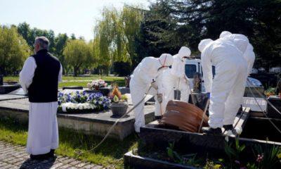 Europe enterrement coronavirus