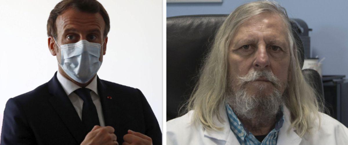 Emmanuel Macron et Didier Raoult