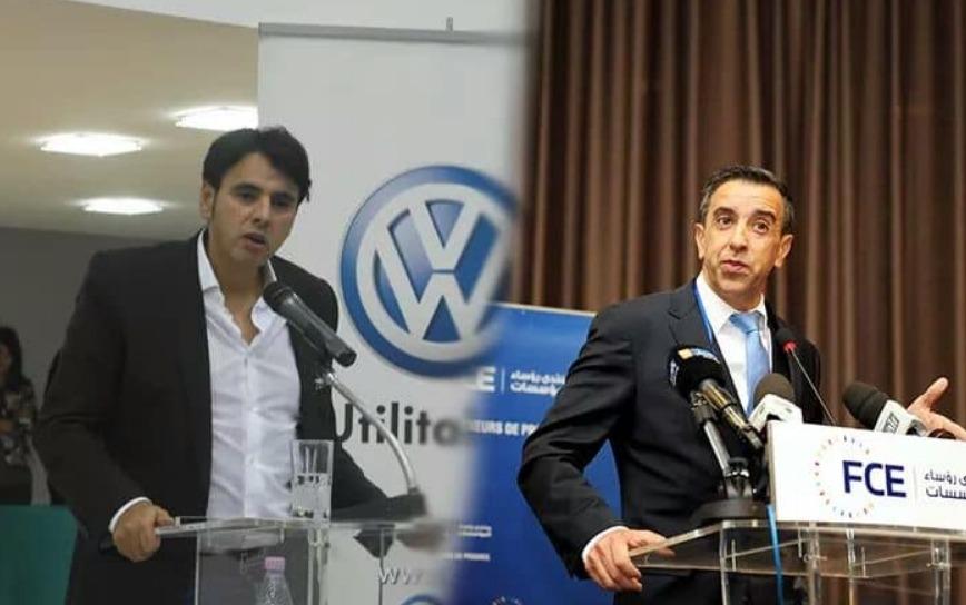 Mourad Oulmi et Ali Haddad