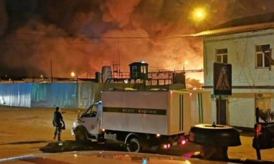 Mutinerie et incendie en prison en sibérie
