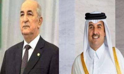 Qatar Algérie covid-19 aide