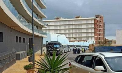 Établissements hôteliers de la ZET « Les Sablettes »