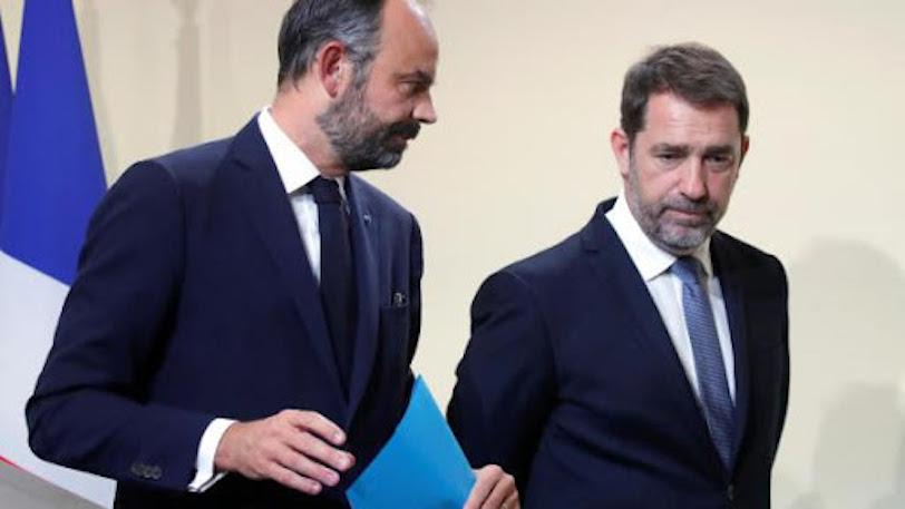 Édouard Philippe et Christophe Castaner