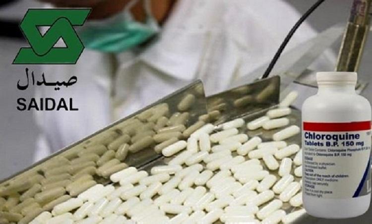 Saidal : Production de chloroquine
