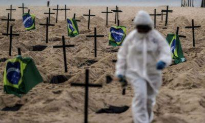 Brésil : plus de 2 millions de contaminations du coronavirus