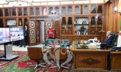 Le Président Tebboune préside une réunion du Conseil des ministres