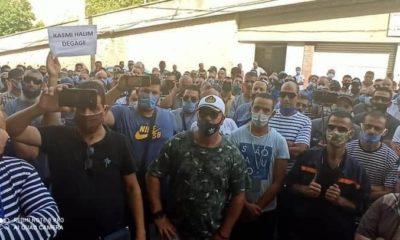 Déclaration des travailleurs du port de Béjaïa
