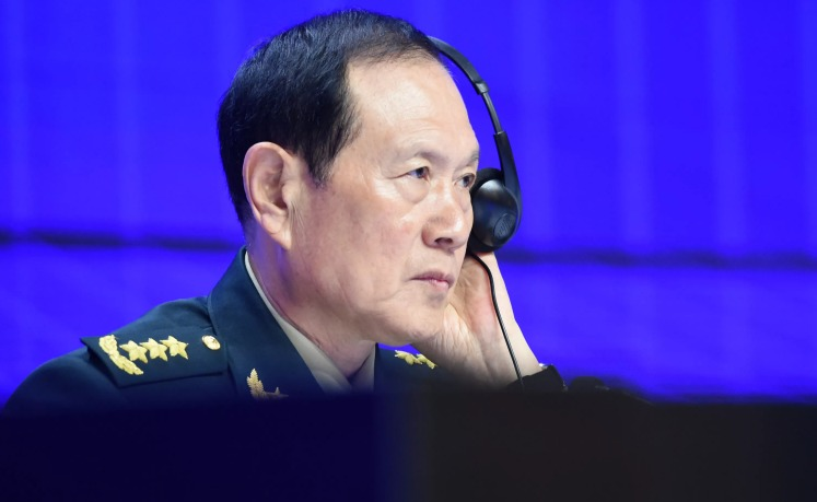 Chine-USA : Pékin exige l'arrêt des « paroles et actes erronés »